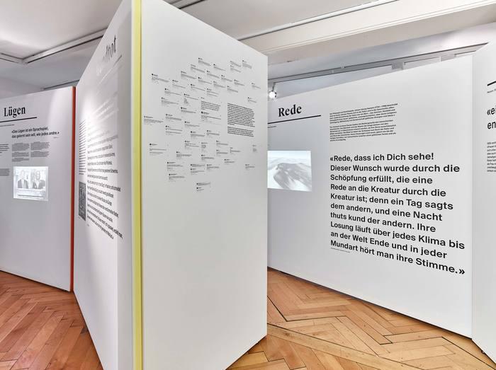 Das Wort exhibition at Strauhof 10