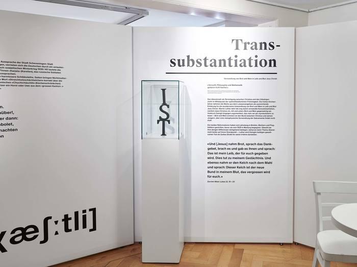 Das Wort exhibition at Strauhof 11