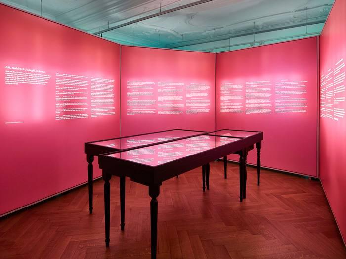 Das Wort exhibition at Strauhof 13