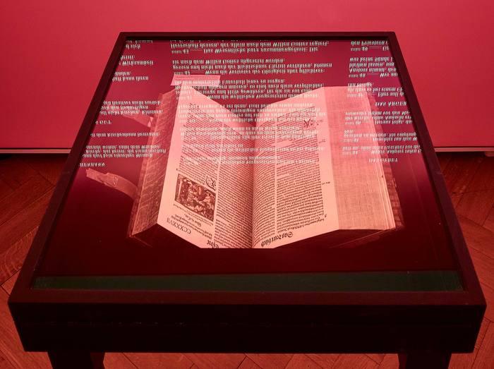 Das Wort exhibition at Strauhof 14