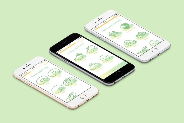 Donut Configurator Mobile UI 3
