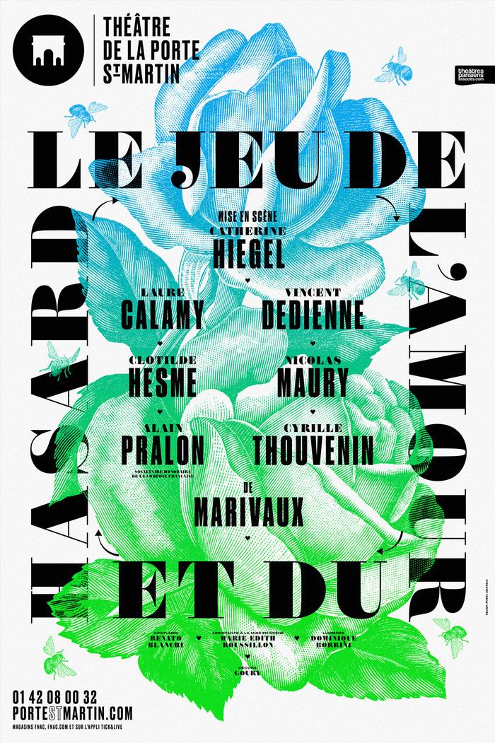 Le Jeu de l'amour et du hasard — Druk is combined with Trianon Normande.