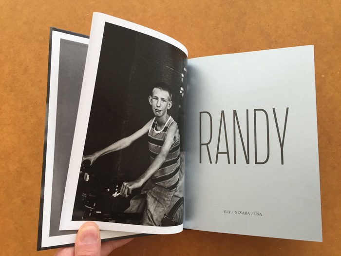 RANDY, photo book for Robin de Puy, by Sybren Kuiper.