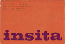 <cite>Insita — Bulletin of insite art</cite>, 1971–73