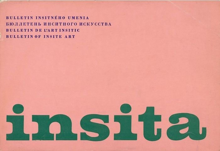 Insita — Bulletin of insite art, 1971–73 2
