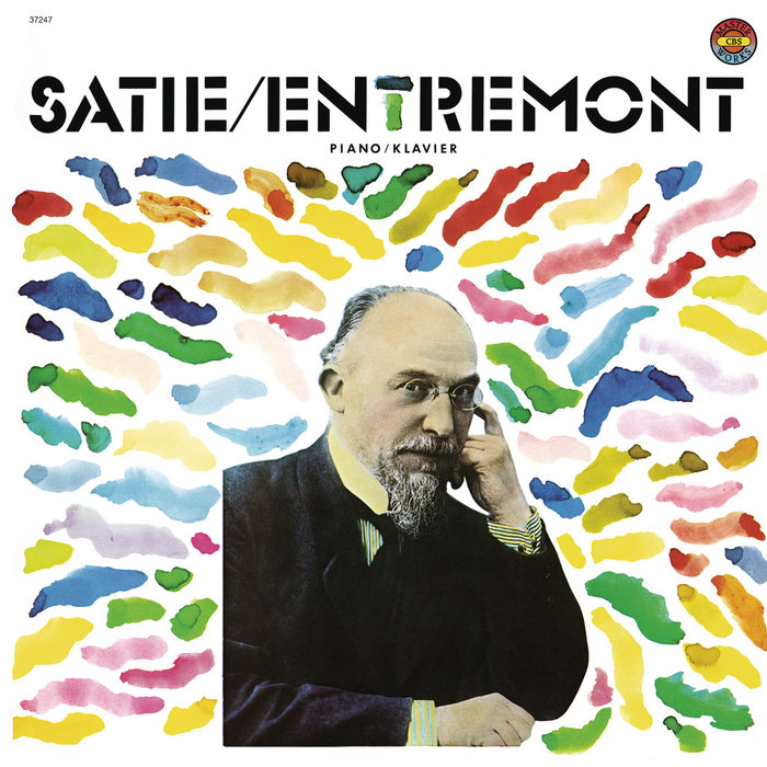 Satie / Entremont album art