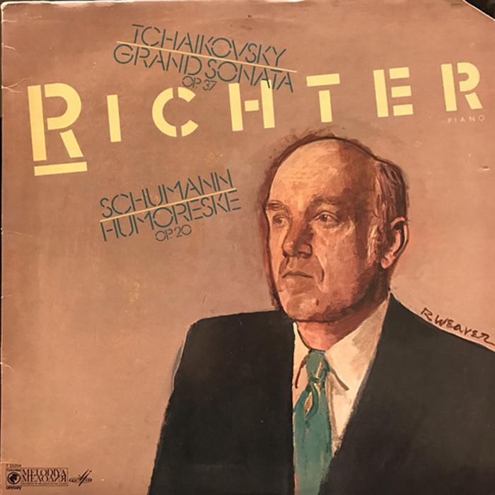 Richter – Tchaikovsky (Grand Sonata Op. 37) / Schumann (Humoreske Op. 20) album art 1