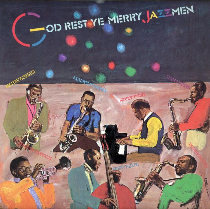 God Rest Ye Merry Jazzmen album art
