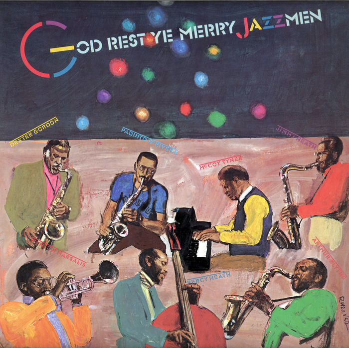 God Rest Ye Merry Jazzmen album art