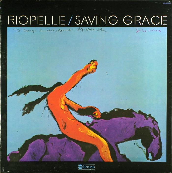 Jerry Riopelle – Saving Grace album art 1