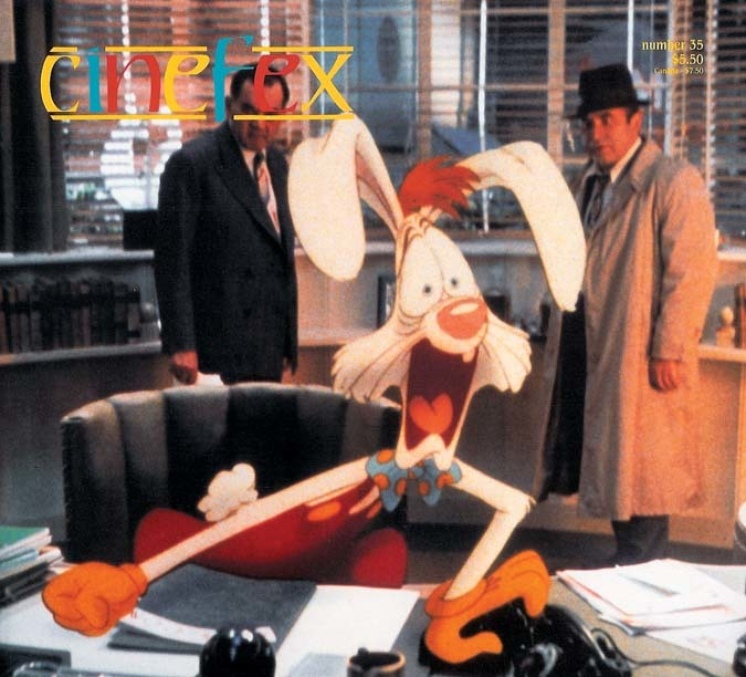 Number 35, August 1988, featuring Who Framed Roger Rabbit?. The only time the logo has appeared in multiple colors.