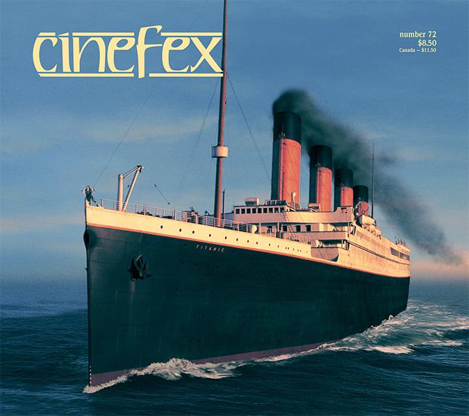 Number 72, December 1997, featuring Titanic.
