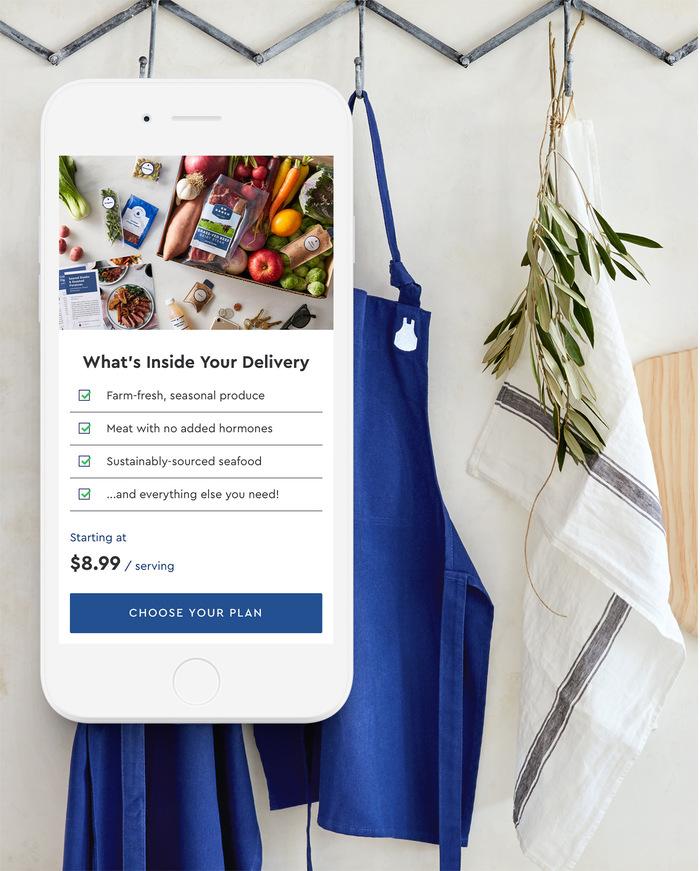 Blue Apron Inc. identity 2