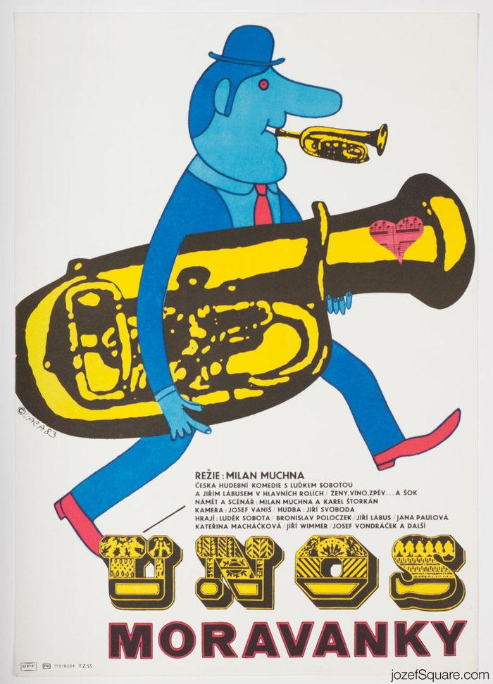 Únos Moravanky (Kidnapping the Moravanka Brass Band)