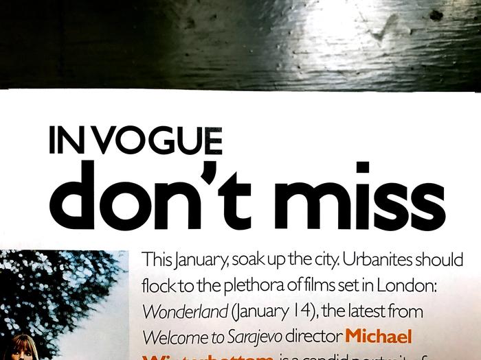 British Vogue (1999–2002) 3