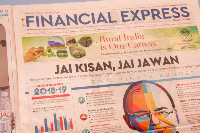 Financial Express, India 8