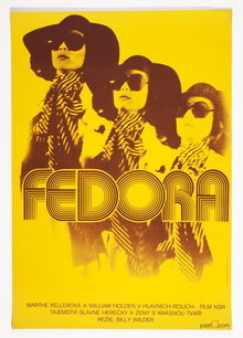 <cite>Fedora</cite> movie poster