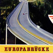 Europabrücke / Brennerautobahn postcard