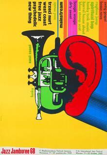 Jazz Jamboree 68 poster