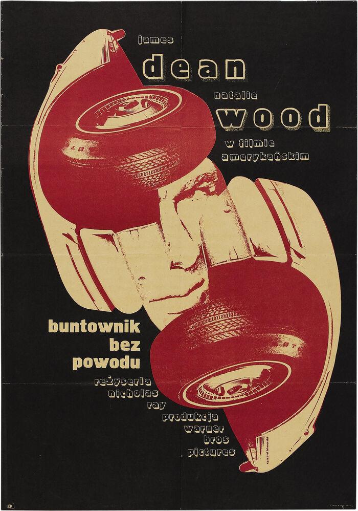 Buntownik bez powodu (Rebel Without a Cause) Polish movie poster 1