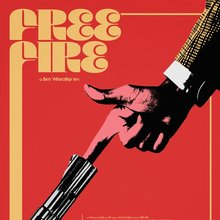 <cite>Free Fire</cite> movie poster (Mondo)