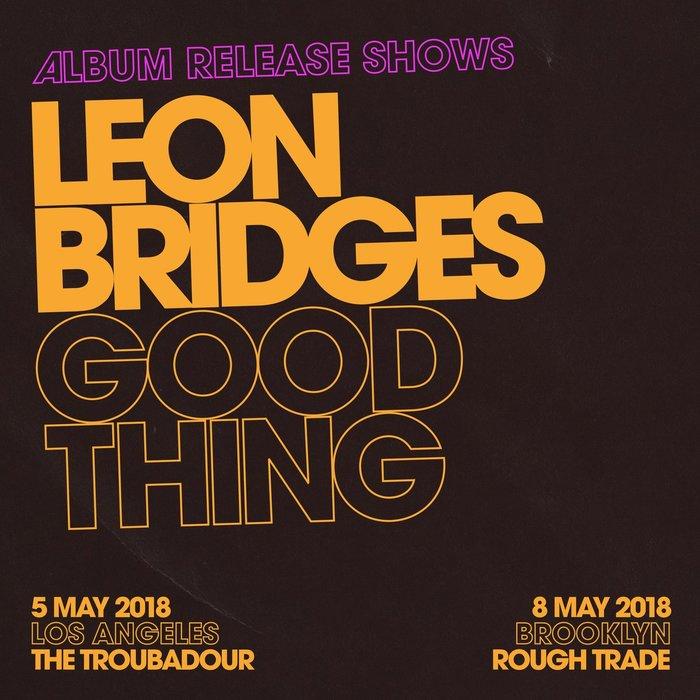 Leon Bridges – Good Thing album art 3