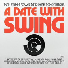 Main Stream Power Band – <cite>A Date With Swing</cite> album art