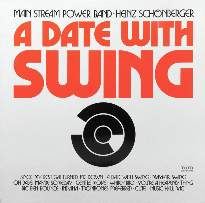 Main Stream Power Band – A Date With Swing album art 1