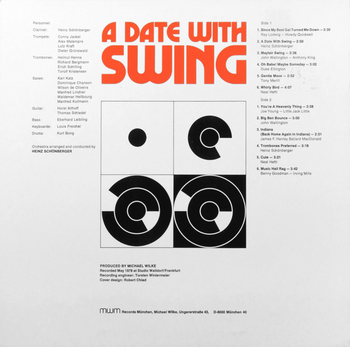 Main Stream Power Band – A Date With Swing album art 2