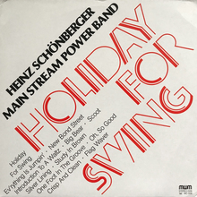 Main Stream Power Band – <cite>Holiday For Swing</cite> album art