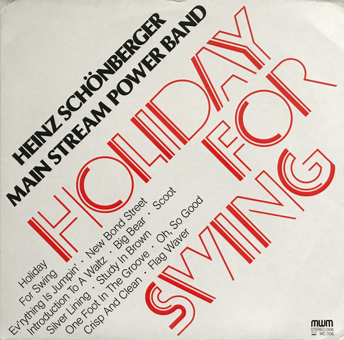 Main Stream Power Band – Holiday For Swing album art 1