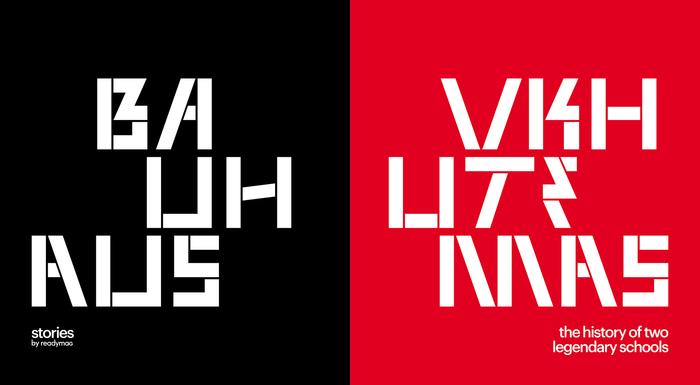 Readymag Stories: Bauhaus Vkhutemas 1