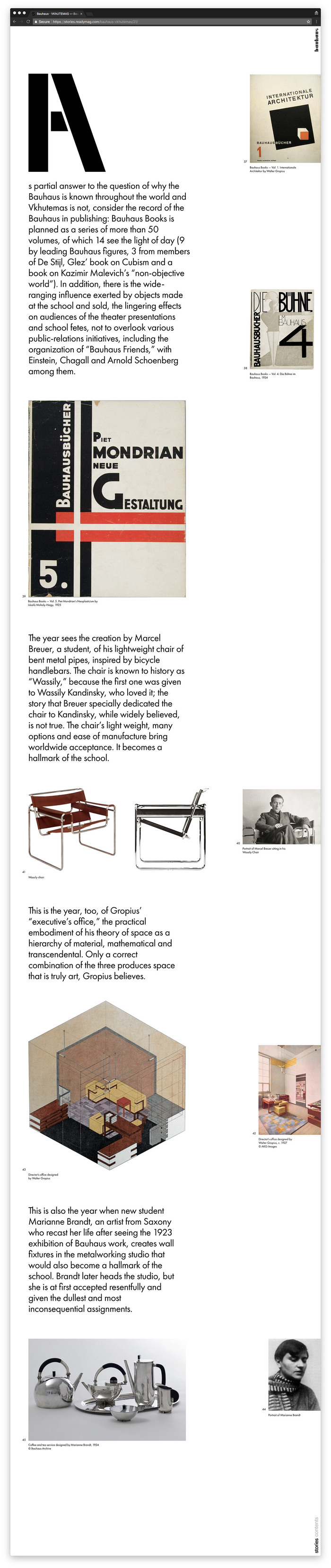 Readymag Stories: Bauhaus Vkhutemas 5