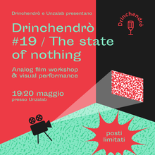 Drinchendrò #19 / The state of nothing