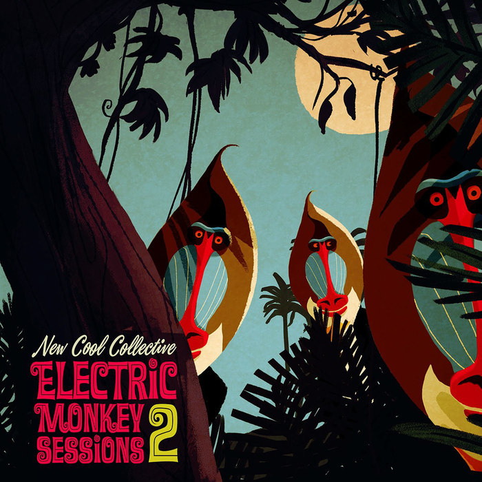Front cover of New Cool Collective's Electric Monkey Sessions 2, 2017. [More info on Discogs]