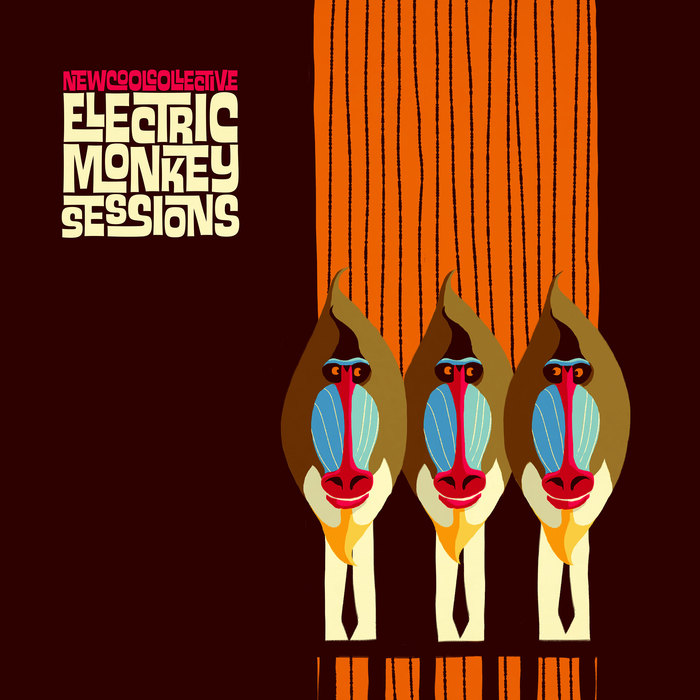 Front cover of New Cool Collective's Electric Monkey Sessions, 2014. [More info on Discogs]