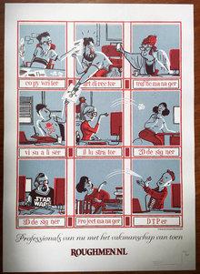 Roughmen promo poster