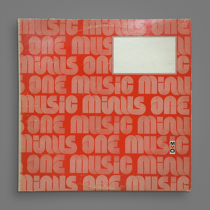 Music Minus One house bag 1