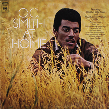 O.C. Smith – <cite>At Home </cite>album art