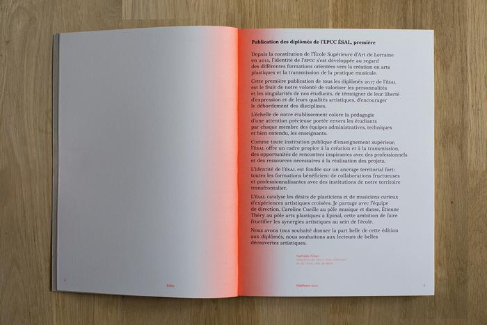 Diplômes 2017 – graduate catalog ÉSAL 7