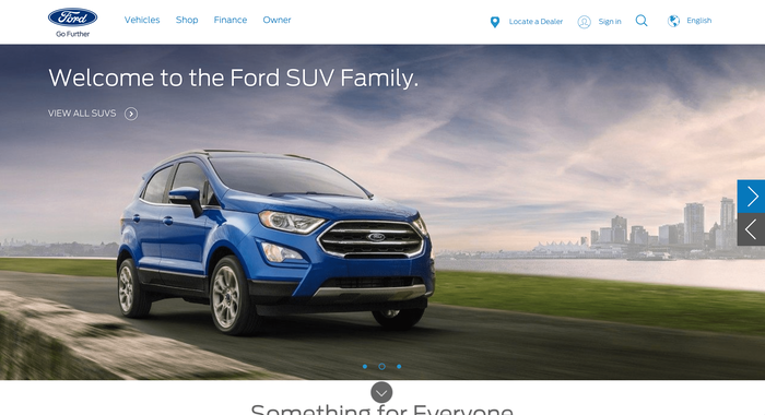 Ford website 1