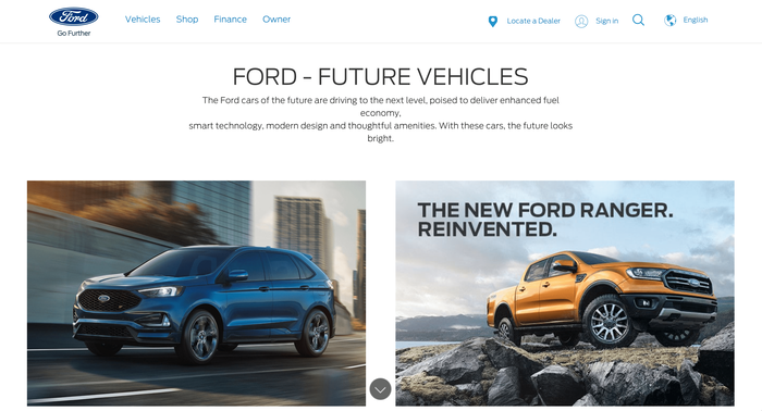 Ford website 3