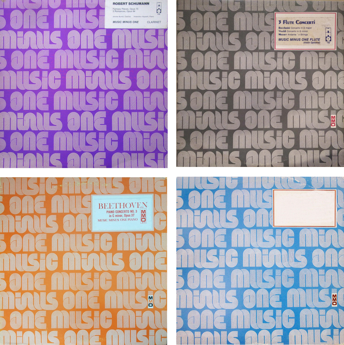 The MMO label profile on Discogs reveals that the design was used in a range of colors, including purple, grey, orange, blue, and more.