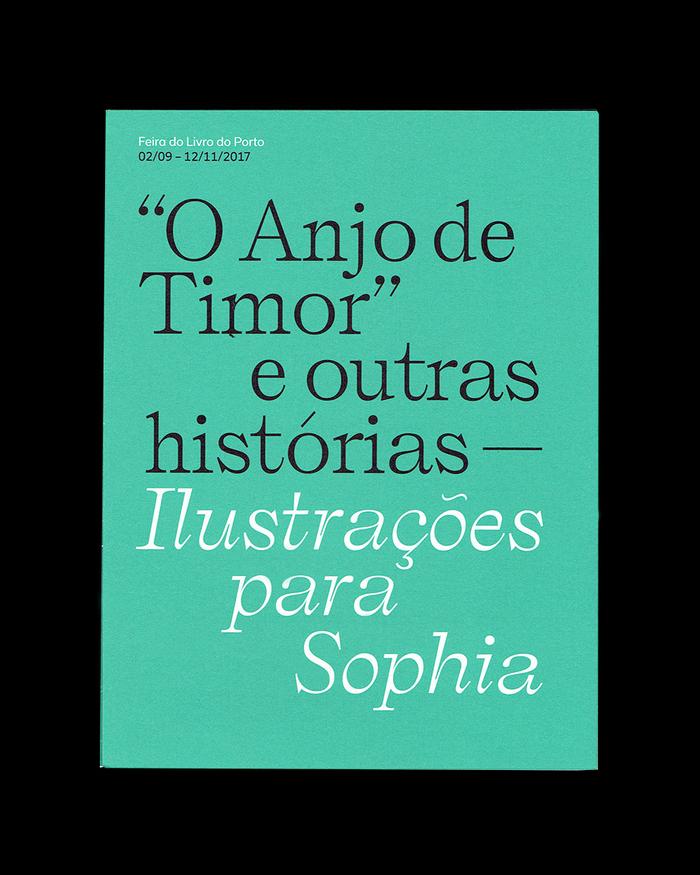 """""""O Anjo de Timor"""" e outras histórias exhibition pamphlet 2"""