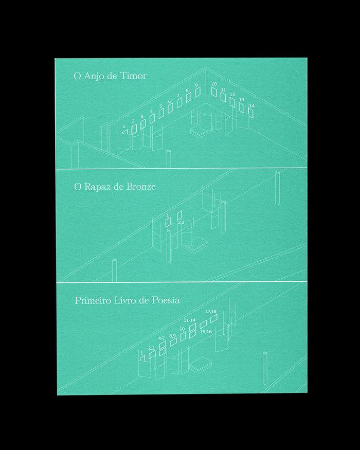 """""""O Anjo de Timor"""" e outras histórias exhibition pamphlet 4"""