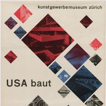 <cite>USA baut</cite> exhibition poster