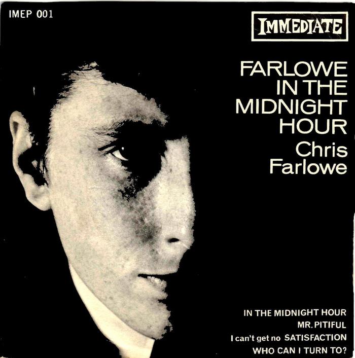 Farlowe In The Midnight Hour EP – Chris Farlowe