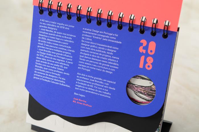 Zardoz e Agulha 2018 Calendar 2