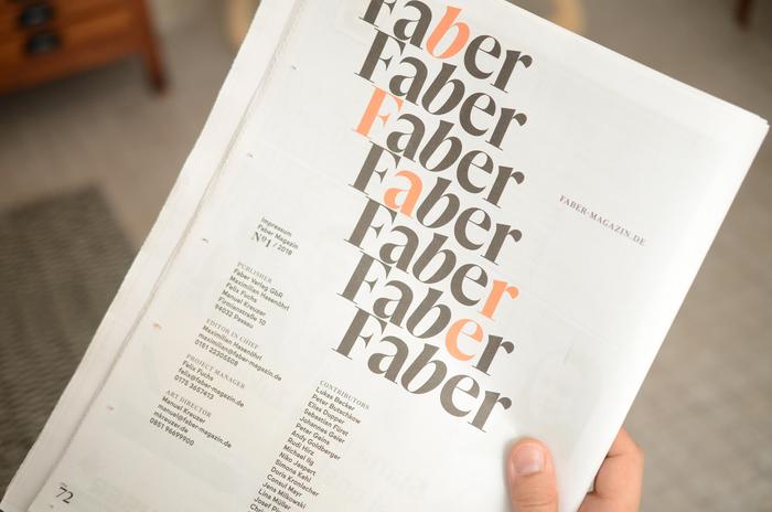 Faber Magazine 10