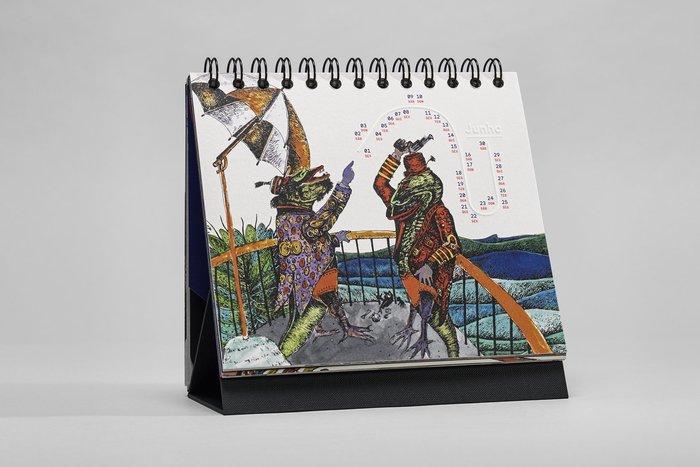 Zardoz e Agulha 2018 Calendar 10